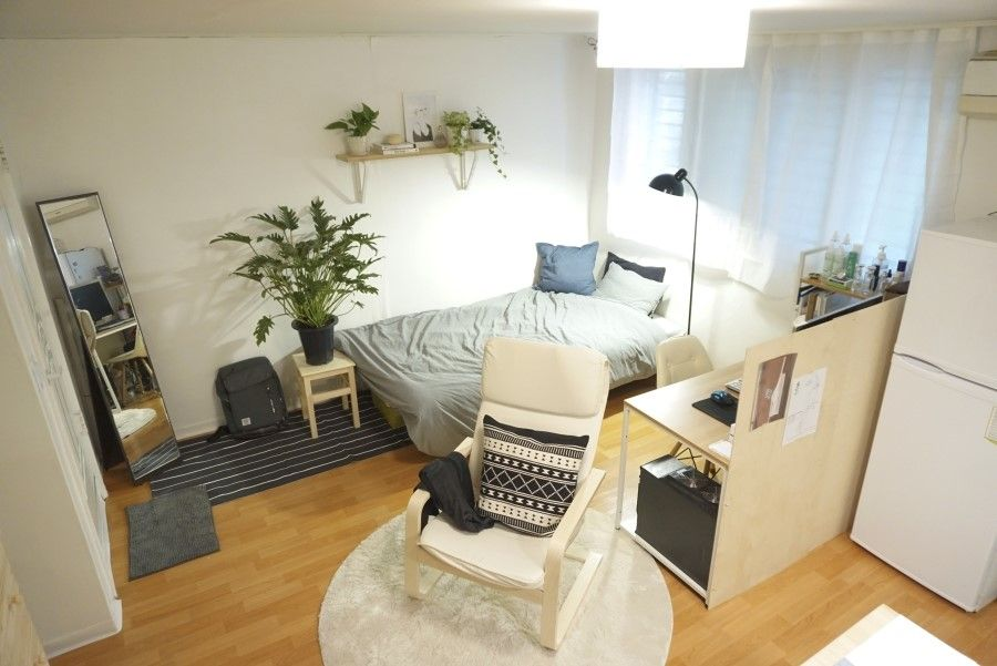 [원룸 셀프 인테리어] 남자의 방, 8평 원룸 인테리어 프로젝트 ...
