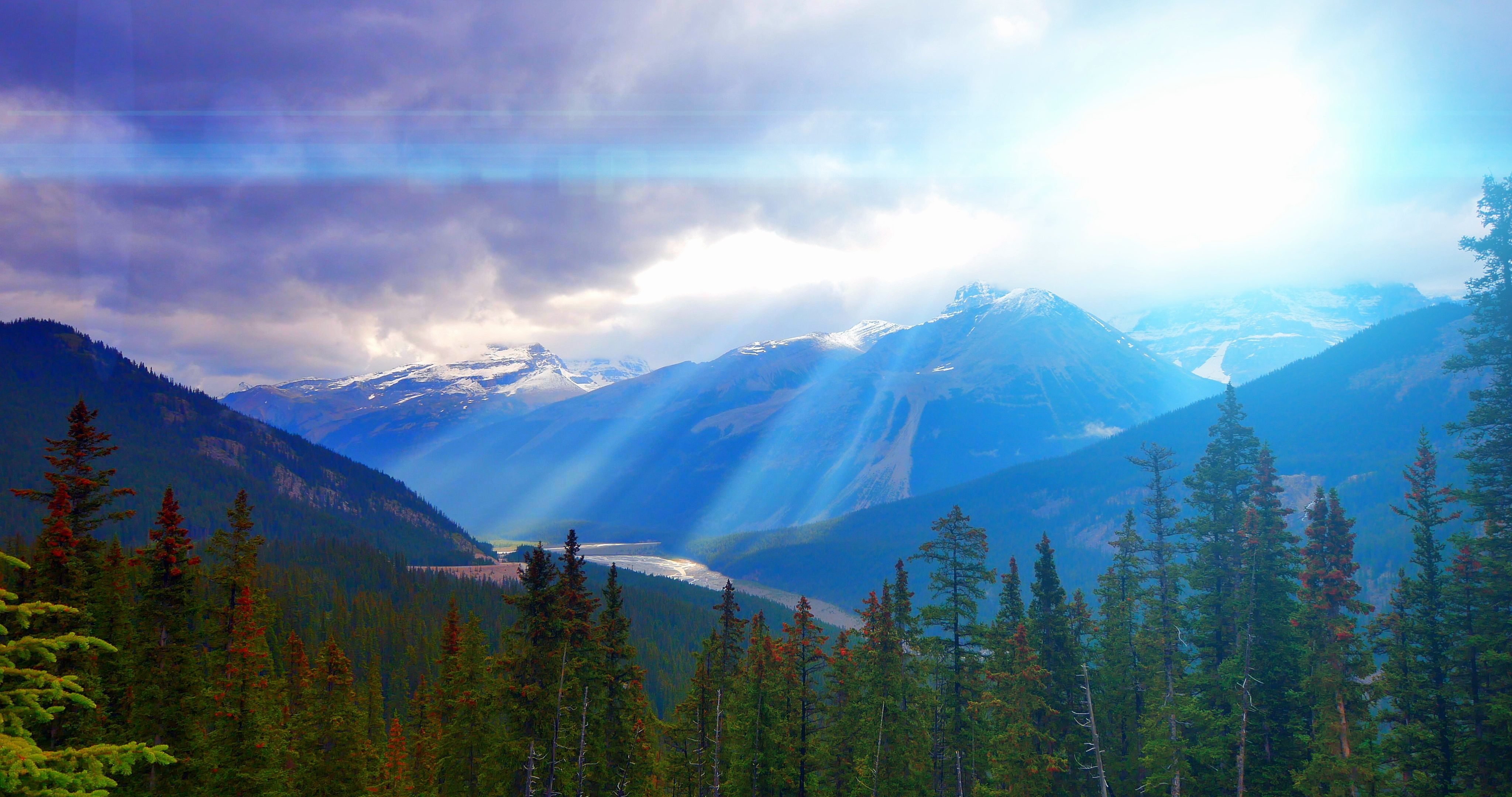 Sun Crepuscular Rays Sky Light Landscape Mountains Nature Beautiful Clouds View Stock Footage Sky Light Landscape Sun Landscape Sky Clouds