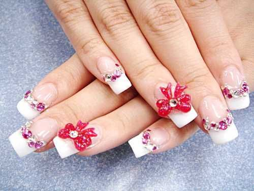 Bright lights big color pamper your nails with 3d nail art nail bright lights big color pamper your nails with 3d nail art prinsesfo Images