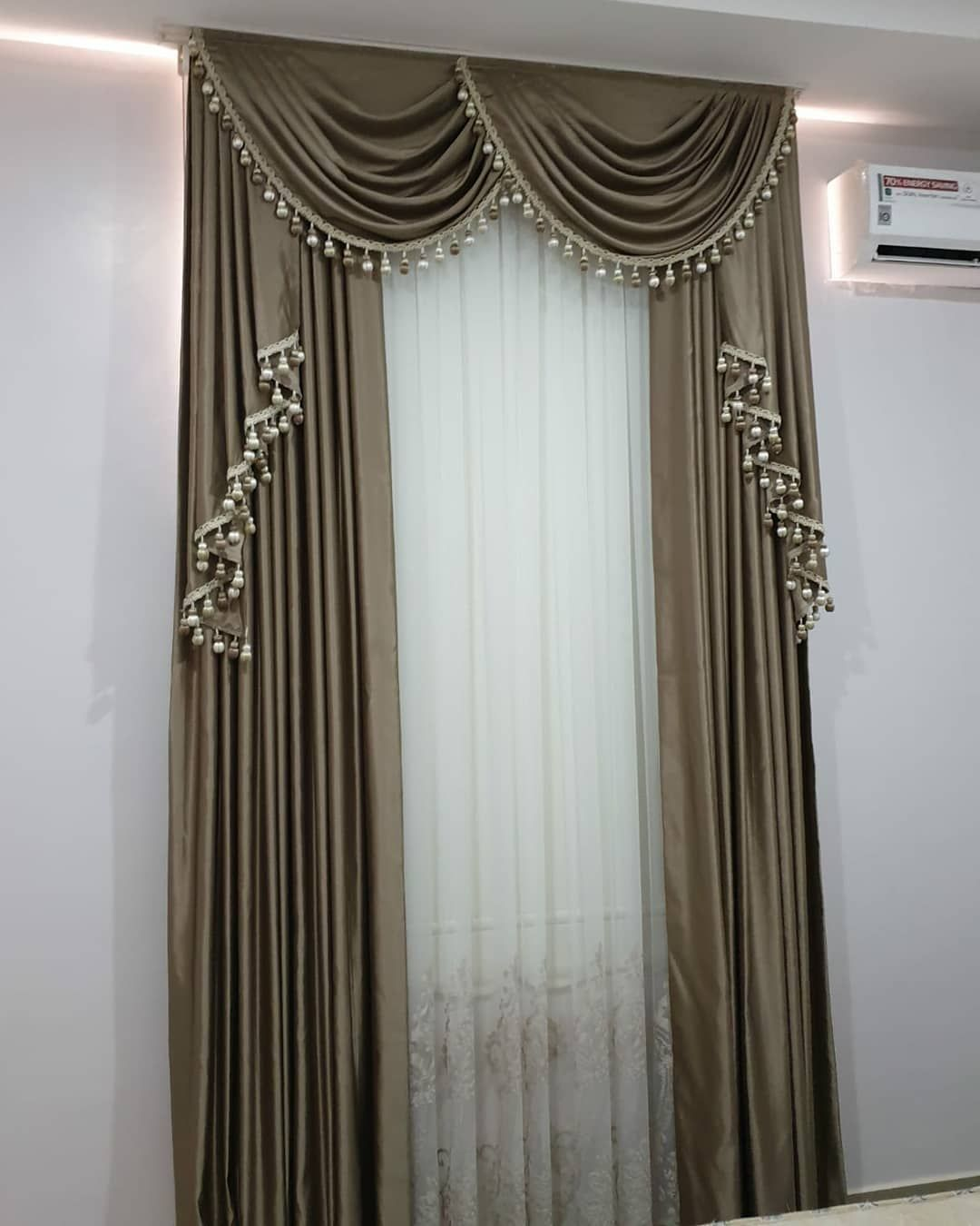 Our Curtain Installation Finished At Abuja If You Need Unique And
