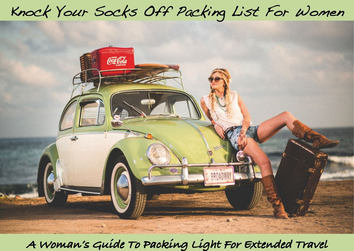 Packing Guide for Women Road trip car, Film presets