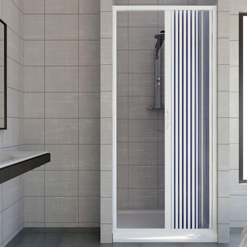 Shower door in PVC plastic mod. Vergine 140 cm with …
