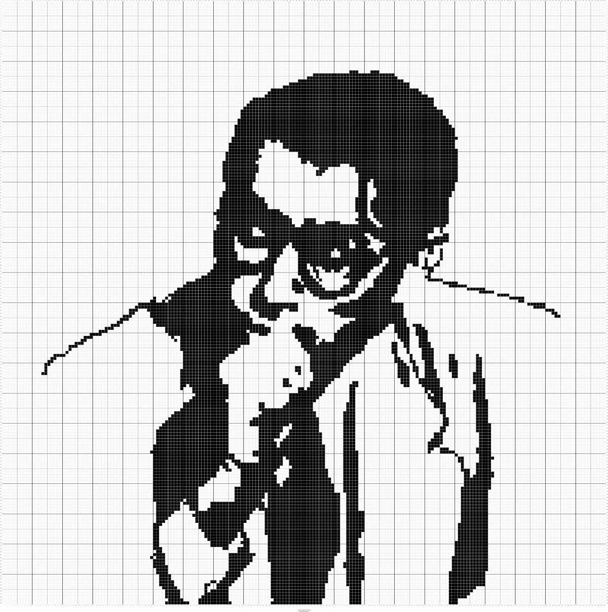 Atticus Finch To Kill A Mockingbird Silhouette Cross Stitch