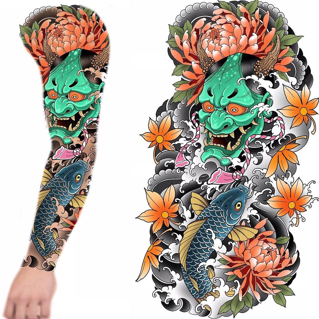 """Rob steele on Instagram: """"Full sleeve up for grabs!!! Someone give this a home #tattoo #tattoos #tattooing #tattooist #tattooer #tattooed #tattooart #tattooartist…"""""""