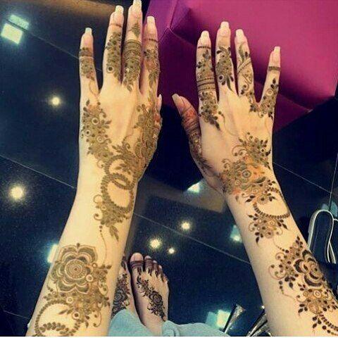 Pin By Azra On الحناء Henna Tattoo Henna Hand Tattoo Henna