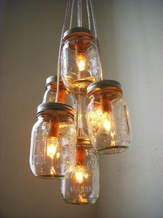 Spectacular Lampe aus Marmeladengl sern