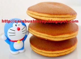 Cara Membuat Kue Dorayaki Doraemon Resep Masakan Indonesia Sederhana Kue Doraemon Masakan Indonesia