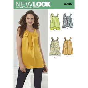 New Look Pattern 6245 Misses' Loose-Fitting Top