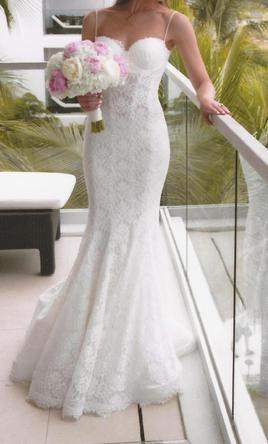 Cute Pnina Tornai Size Used Wedding Dresses