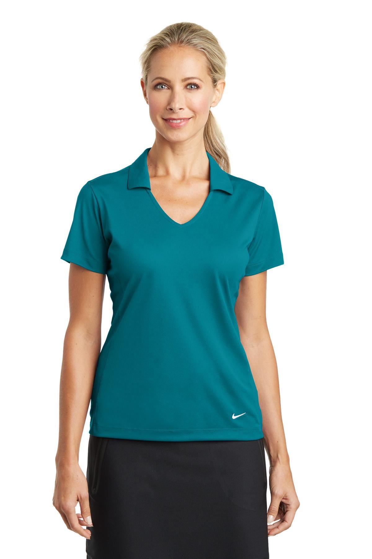 3c9f1d8c5 Nike Golf 637165 - Ladies Dri-FIT Vertical Mesh Polo | sports | Nike ...