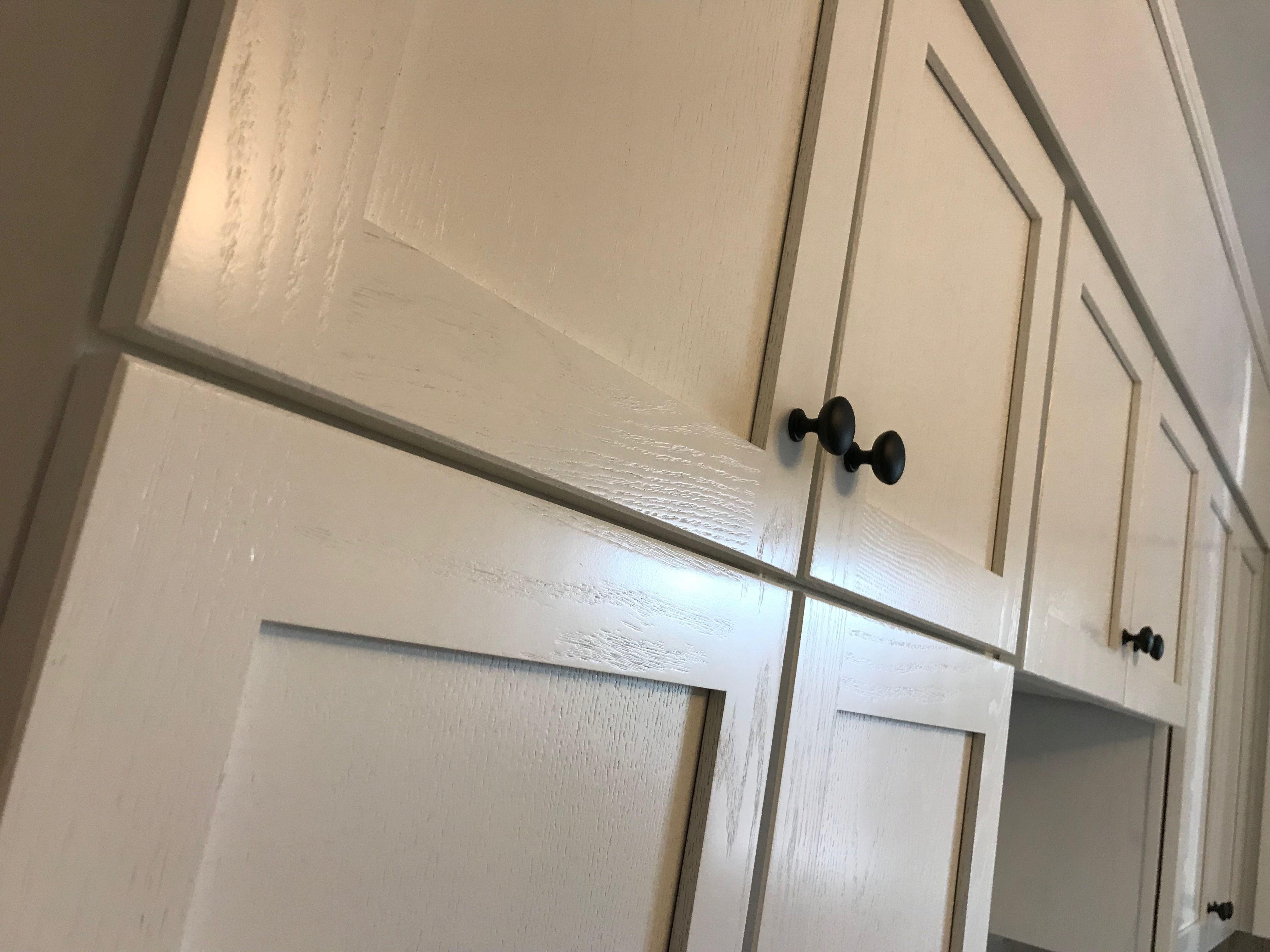 New oak shaker doors finished in Target Coatings Emtech ...