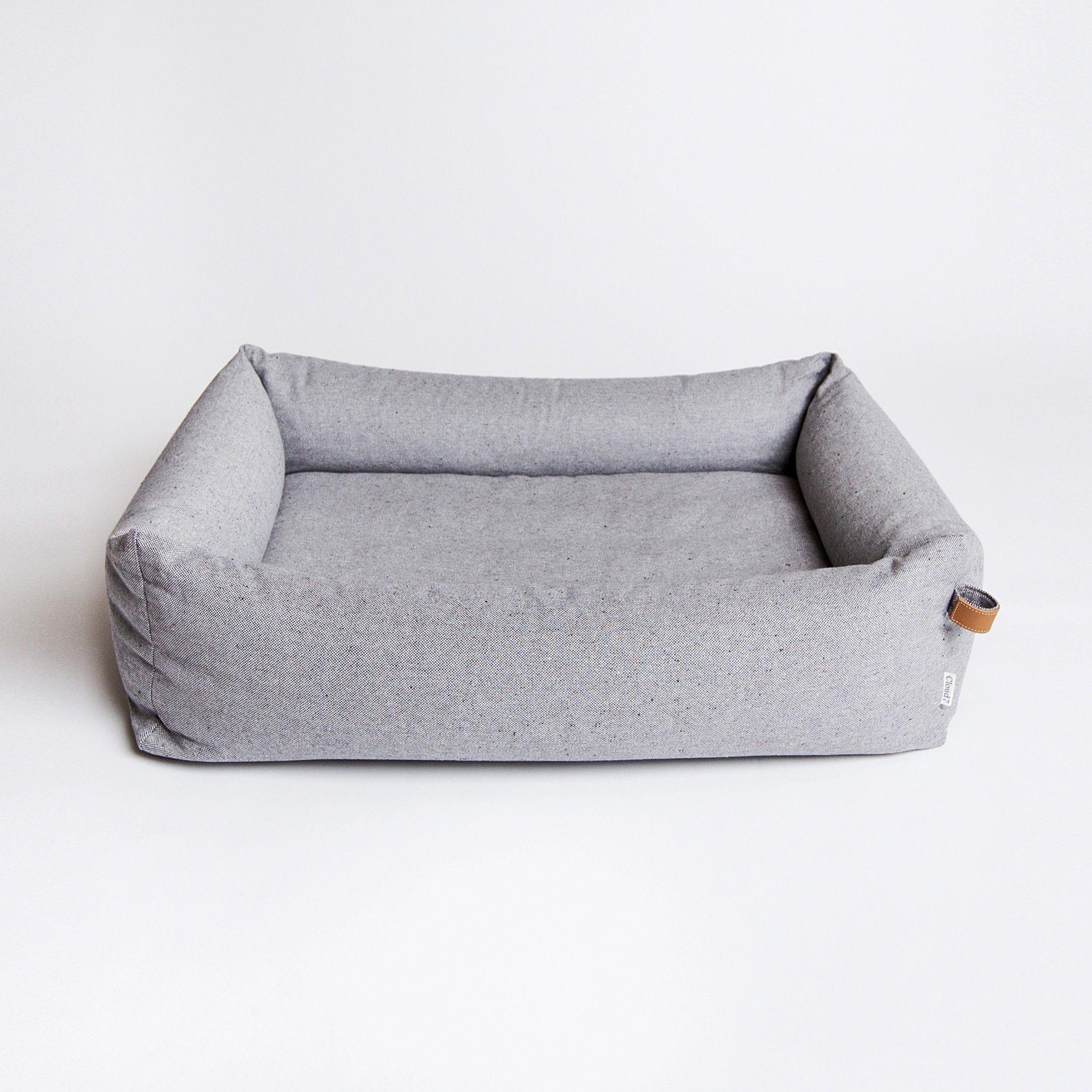 Hundebett Sleepy Deluxe Tweed Grey | Bolonka und Hunde