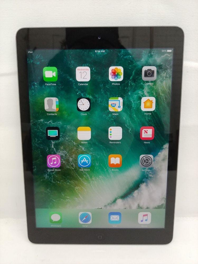 Apple iPad Air 1st Gen 32GB Space Gray 9.7in Wi-Fi