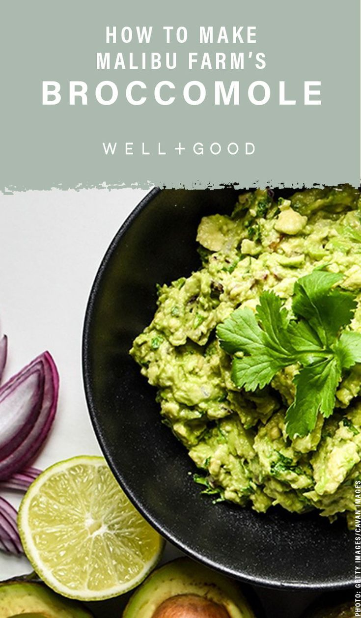 This healthy broccomole recipe will make you forget all about avocados is part of Vegan recipes - Seriously