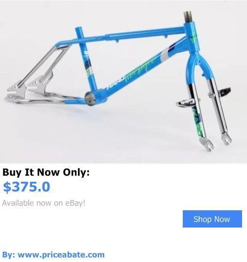 bicycle parts: 2016 Haro Sport 20 Bmx Frameset Blue 1986 ...
