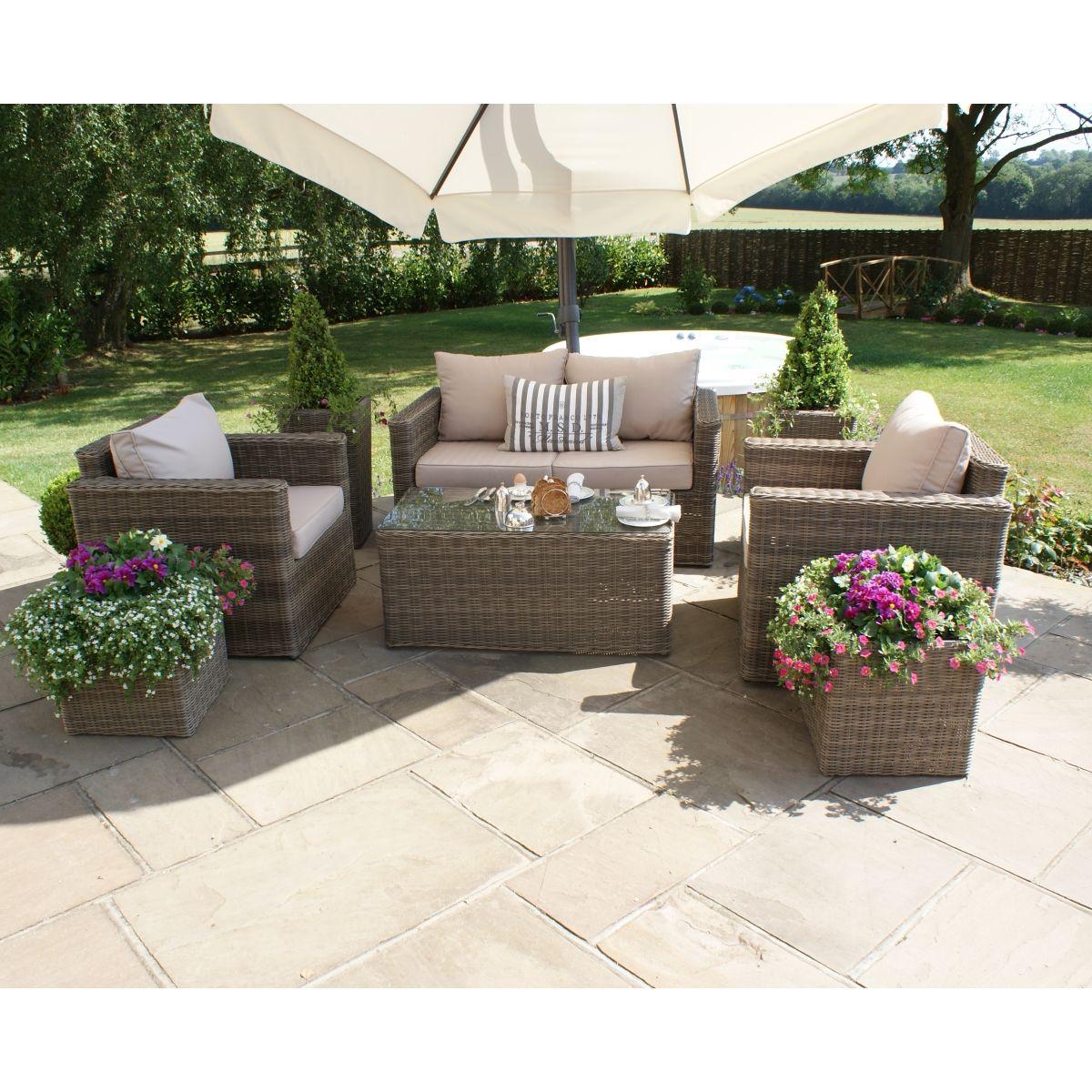 Maze Rattan Winchester Square Sofa Set WIN-202044 - https://www ...
