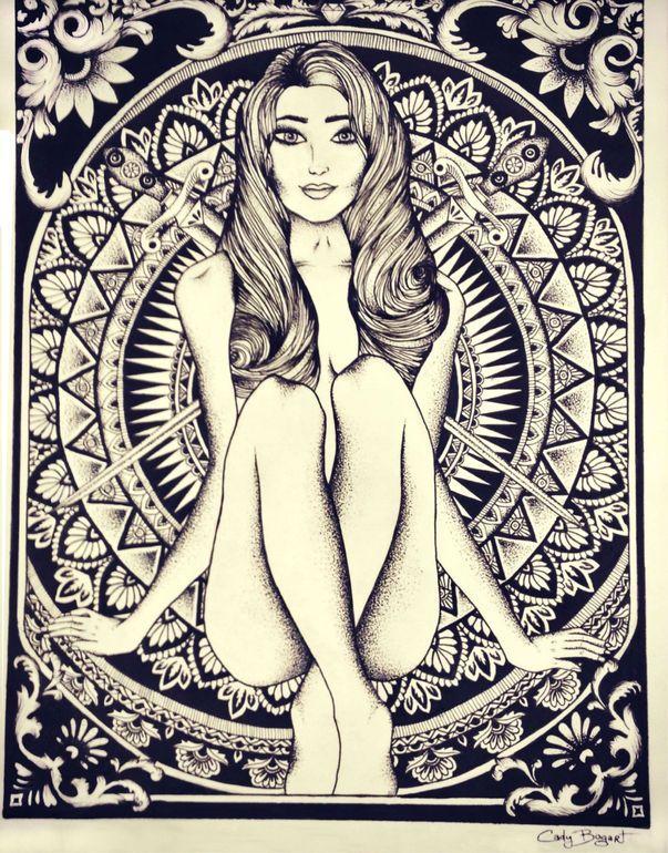 Art No Longer Available Goddess Art Artist En Drawings
