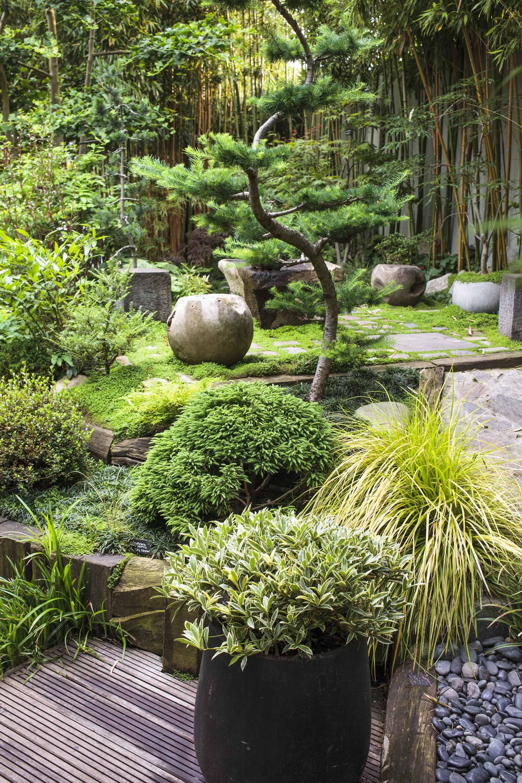 Jardin Japonais Chez Soi aménager un jardin japonais chez soi | terrasse et jardin | pinterest