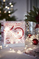 VINTERFEST Papierserviette, gemustert, weiß / rot, 33x33 cm   - Vorfreude auf Weihnachten - #33x33 #auf #gemustert #Papierserviette #Rot #VINTERFEST #Vorfreude #Weihnachten #weiß #papernapkins