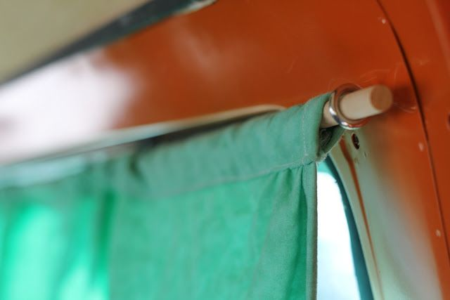 Charming The Hollenback Bus: Vw Bus Curtains Tutorial