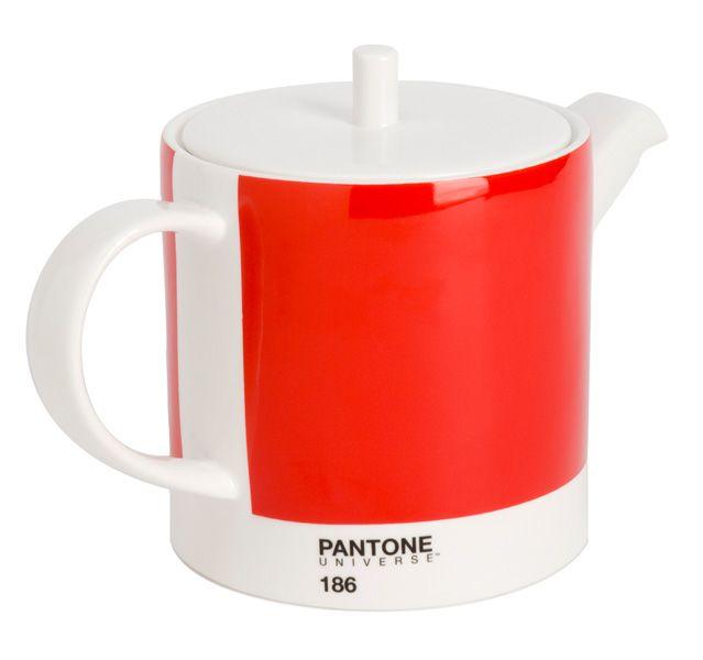 Pantone Universe 29oz Teapot Ketchup Red
