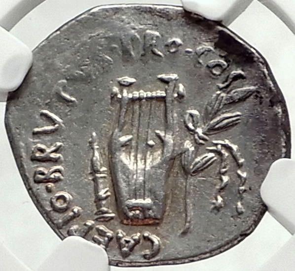 Brutus assassin of julius caesar rare 42bc ancient silver roman coin brutus assassin of julius caesar rare 42bc ancient silver roman coin ngc i68163 freerunsca Images