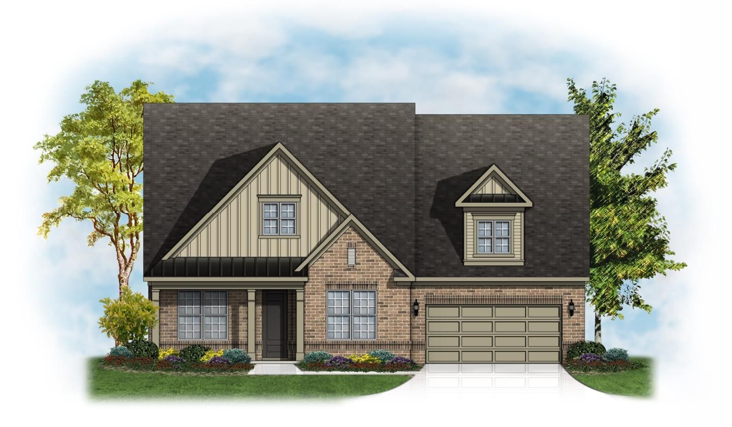 Pikewood Floor Plan at Stafford at Langtree in Mooresville