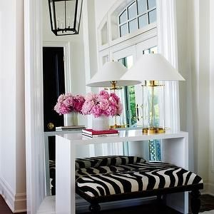console against a mirrored wall - Google Search