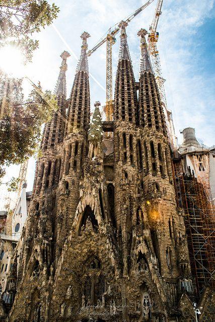 Sagrada Família, Barcelona #BCN #architecture #buildings