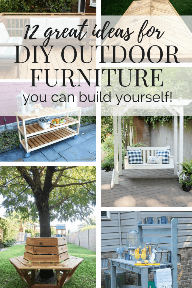 Easy Affordable Simple Diy Outdoor Furniture Ideas Plans