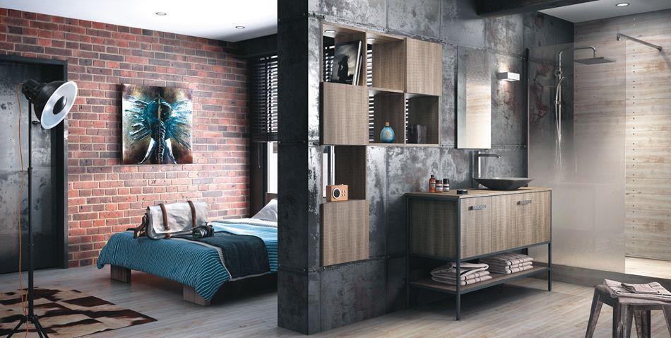 Modeles De Salles De Bains Deco Chambre Industrielle Cloison Deco Chambre Usine