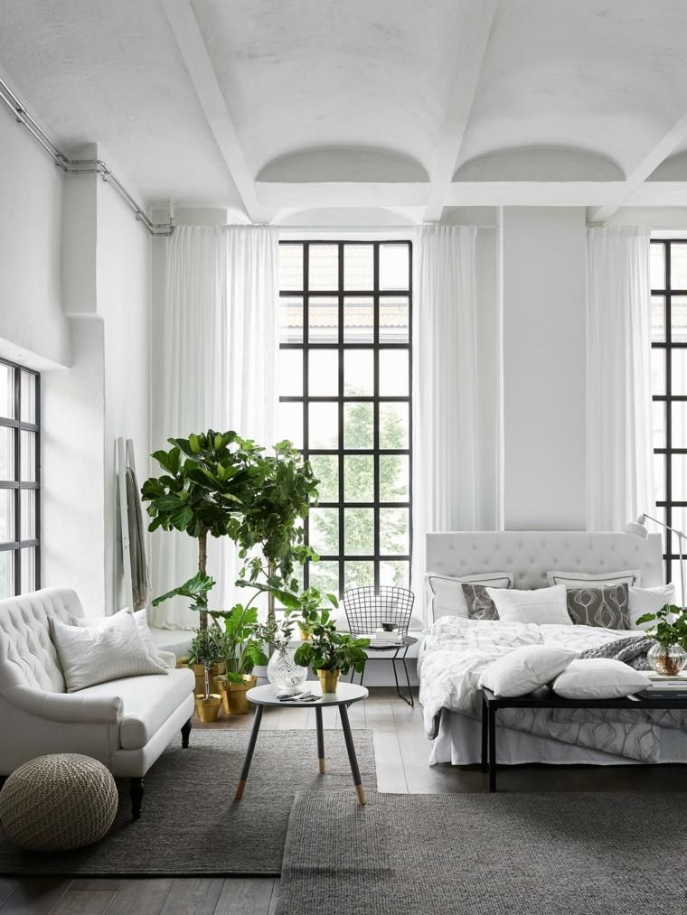 #Interior Design Haus 2018 Skandinavische Stil In Der Inneneinrichtung  #Innen #Modern #Schlafzimmer