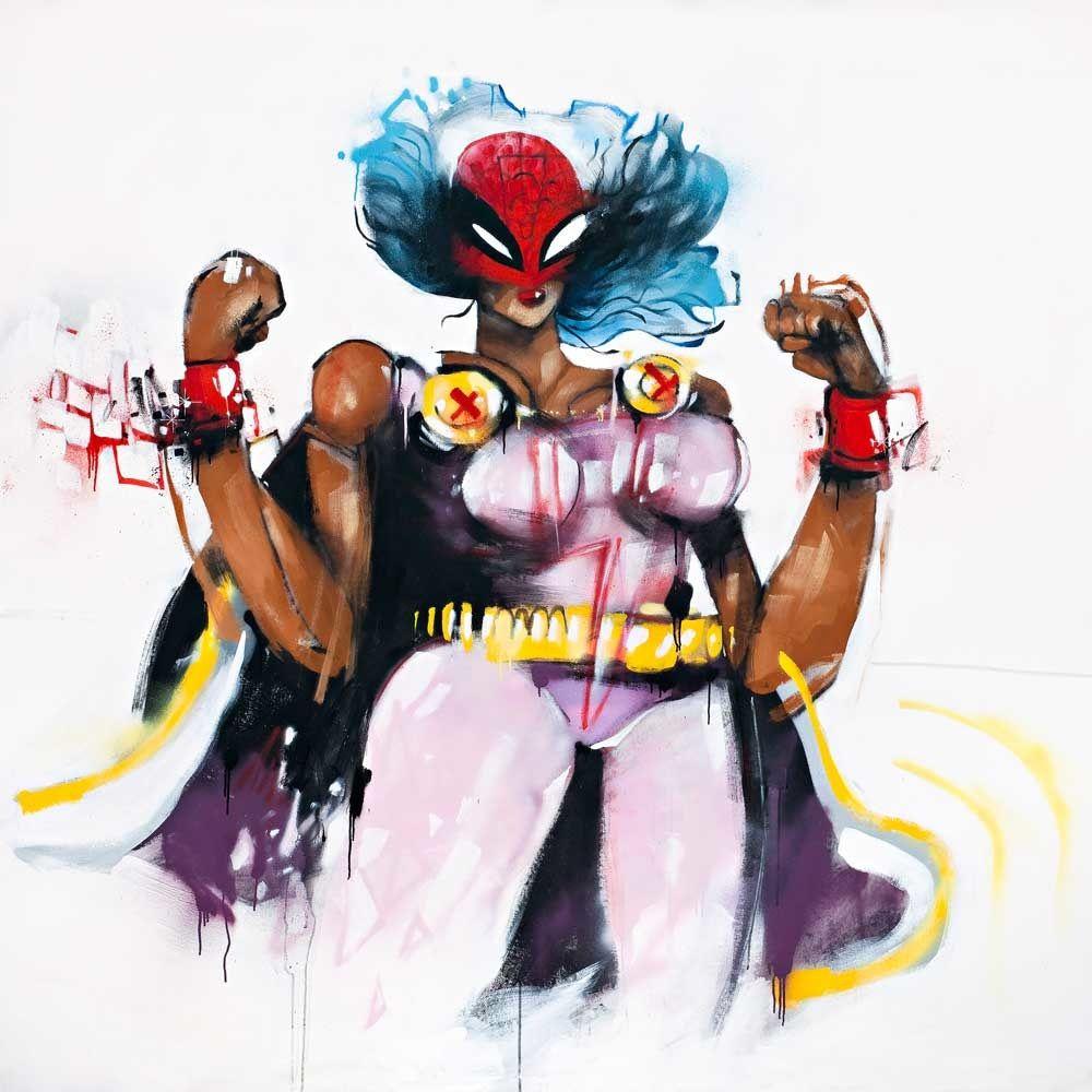 Anthony Lister With Images Art Superhero Art Artwork