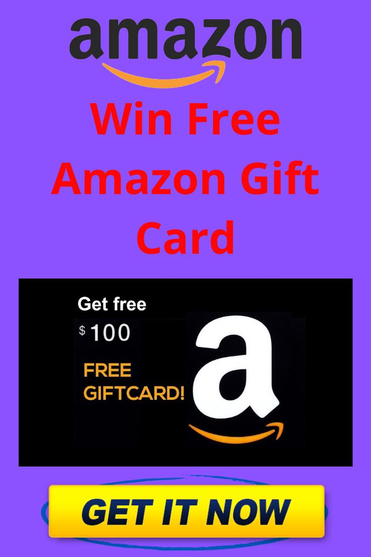 Win Free 100 Amazon Gift Card Amazon Gift Card Free Amazon Gifts Amazon Gift Cards