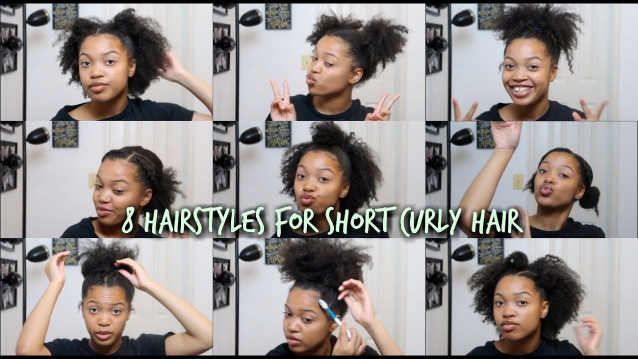 8 Hairstyles For Natural Hair 3c 4a Natural Hair Styles Hair Styles Easy Hairstyles