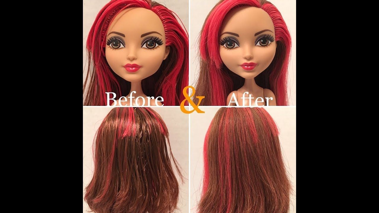 How to Fix Sticky / Greasy Doll Hair - Three Methods ...