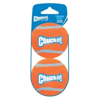 DOG TOYS - BALLS & LAUNCHERS - CHUCKIT! BALLS - 2/PKG - PETMATE - DOSKOCIL MFG CO, INC - UPC: 660048074021 - DEPT: DOG PRODUCTS