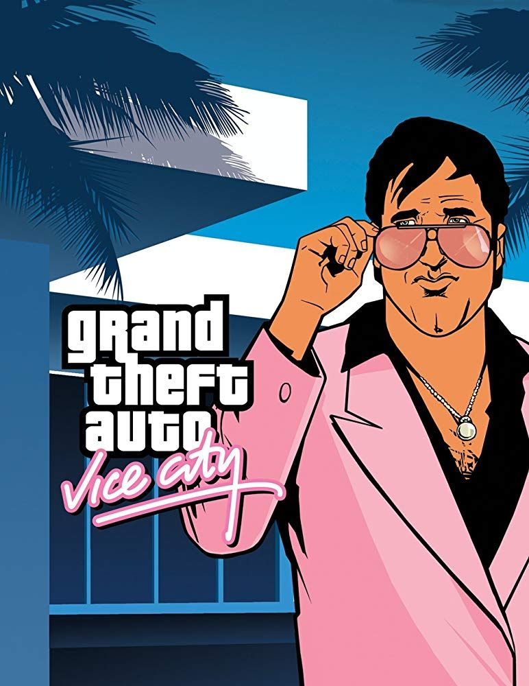 Grand Theft Auto Vice City 2002 Grand Theft Auto Artwork San Andreas Grand Theft Auto City Artwork