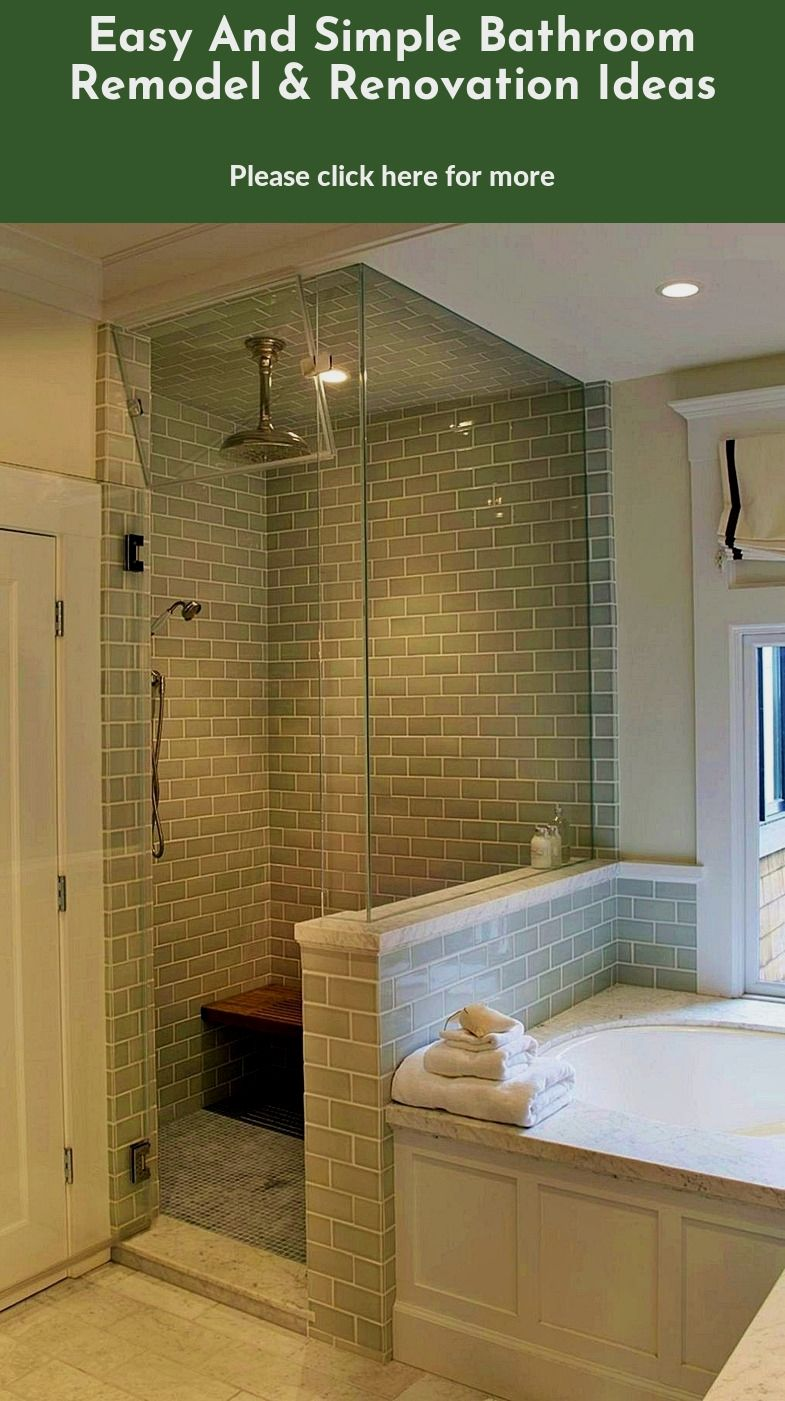 Easy Bathroom Transformations Ideal Home In 2020 Bathrooms Remodel Simple Bathroom Remodel Bathroom Remodel Shower