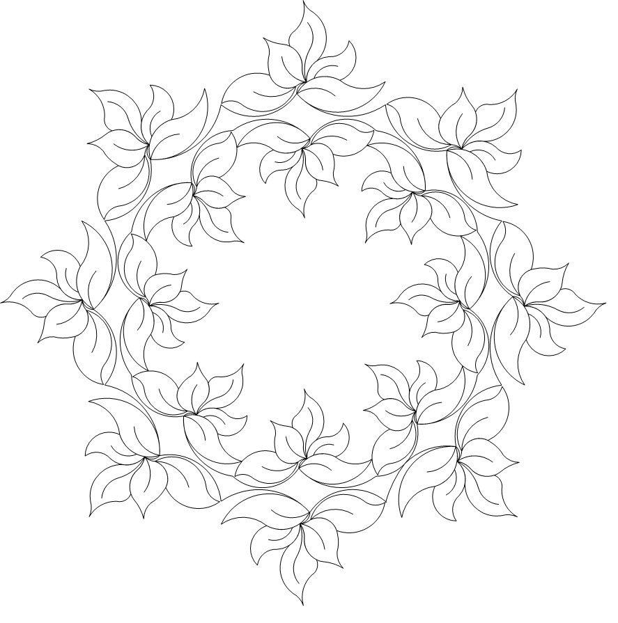 Sweetheart Roses Frame Wreath - 503