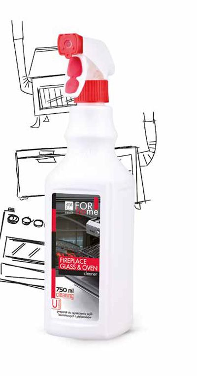 Fireplace Glass And Oven Cleaner 750ml £5.20 Effectively Removes Singes,  Burned Fat And Fume Stains (carbon, Soot). It Is Recommended To Clean  Ovens, ...