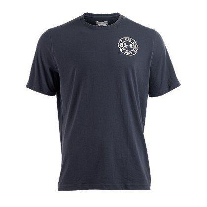 Under Armour Men S Heatgear Maltese Cross T Shirt Firefighter Tee Shirts Firefighter Mens Outfits