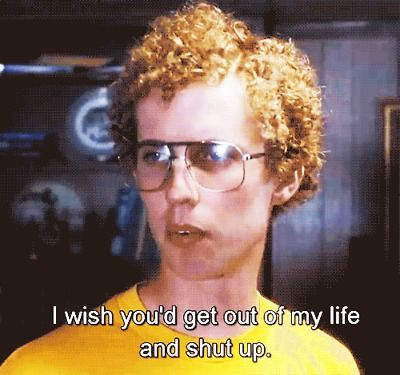 Can't get enough Napolean Dynamite.