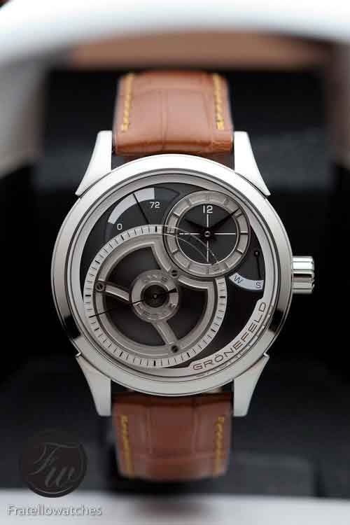 www.watchtime.com | blog | Fratello Friday: What If You Could Only Have One Watch? My Top 5 Choices | Gronefeld OneHerz 500