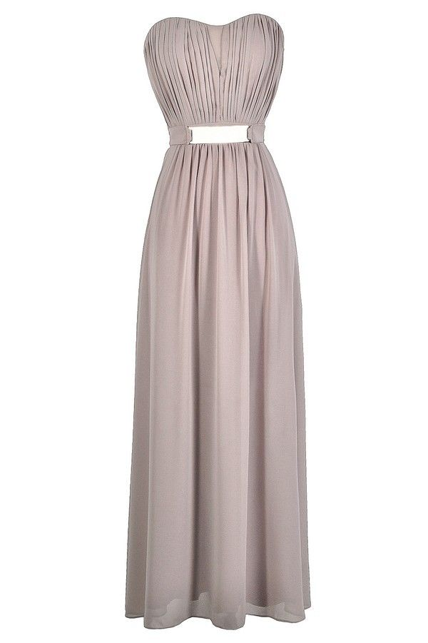 a4c0af5a4624 Absolutely stunning describes the gorgeous neutral fabric of this chiffon  maxi dress. The Chiffon Belted Designer Maxi Dress is made of a silky  chiffon ...
