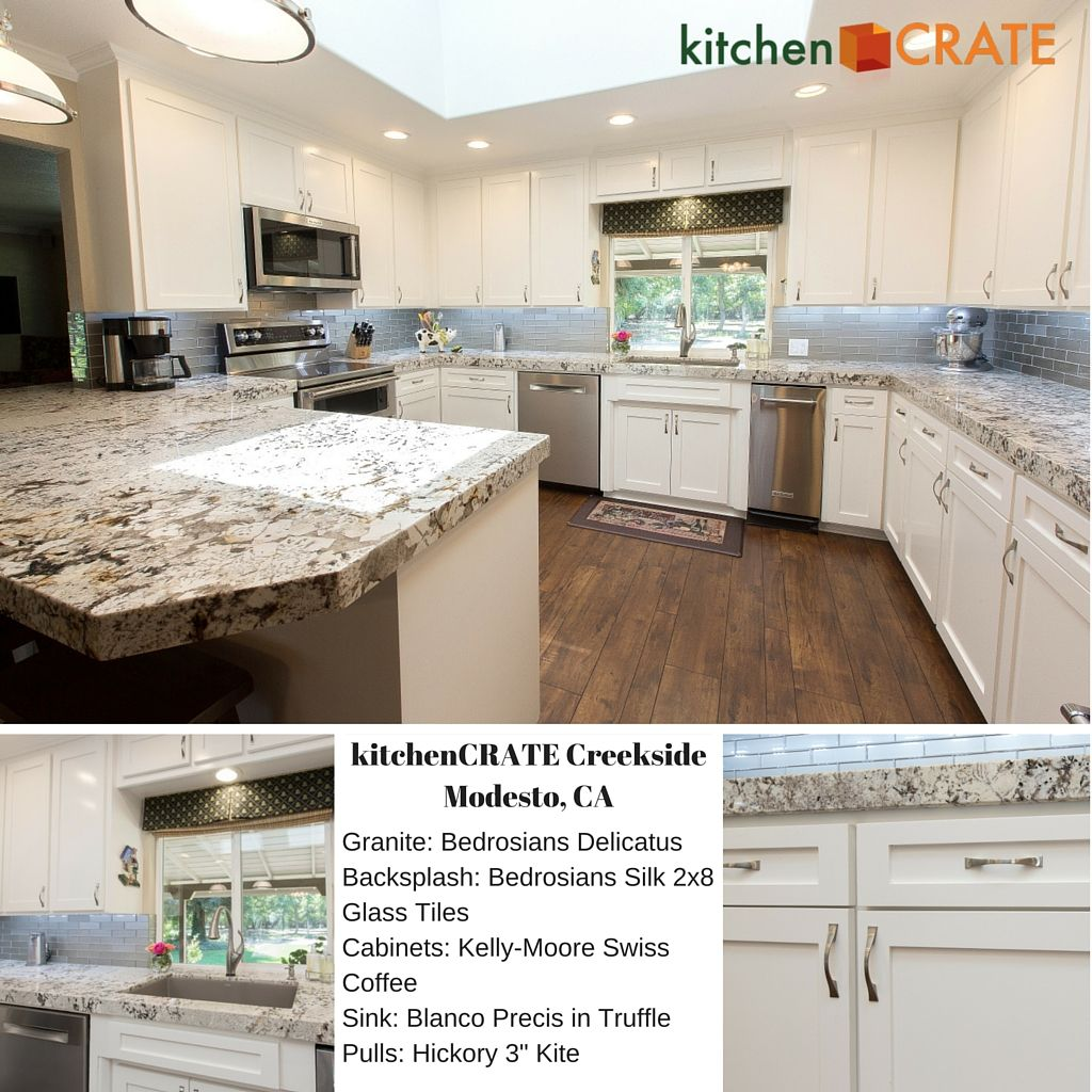 Custom Kitchen Remodel Modesto Kitchencrate Creekside Lane