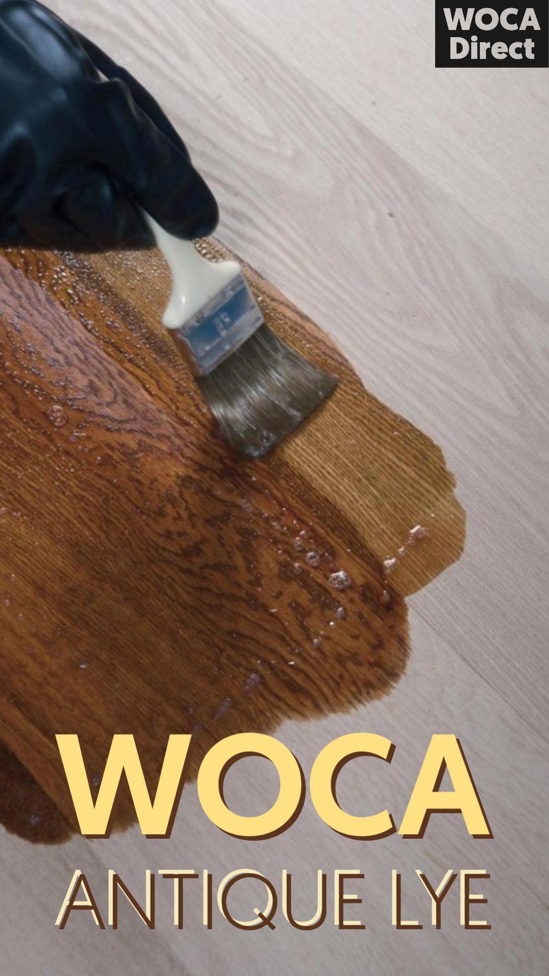 WOCA Antique Lye in 2020 Antiques, Wash floors, Wood