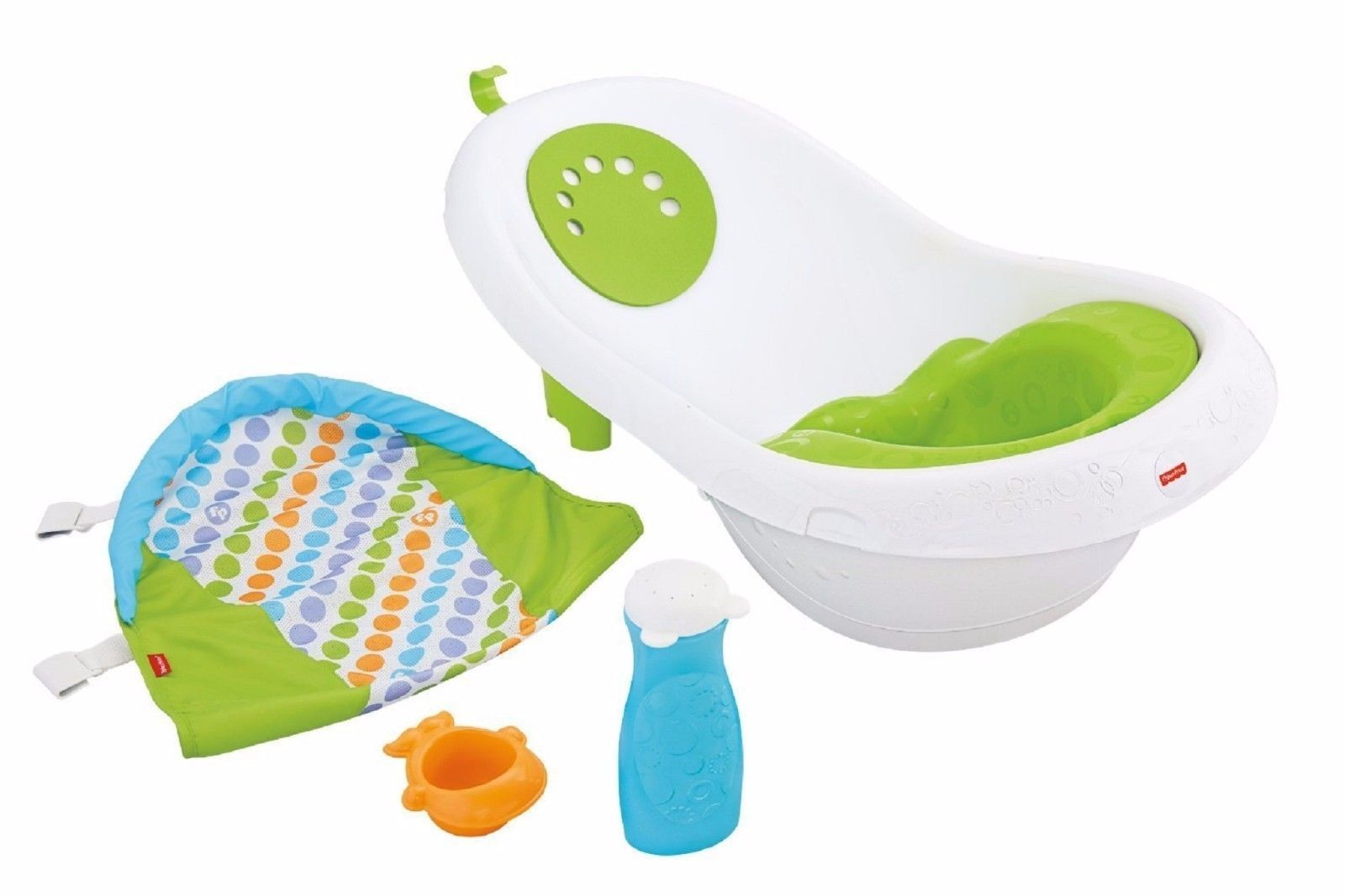 BABY BATH TUB by Fisher-Price 4-in-1 Newborn Infant Toddler ...
