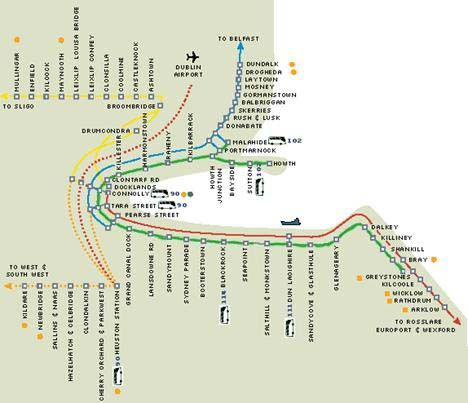 Dart-Dublin | Manders & Negron Vacations | Dublin, Map ... on dublin train stations map, dublin map.pdf, dublin tram system, dublin google map, seattle rapid transit system map, dublin metro, dublin zone map, dublin airport, ireland train route map, dublin transit map, dublin ca map, dublin transit system, dublin train system, connolly station dublin map, dublin europe map, grafton street dublin map, luas dublin map, dublin walking map,