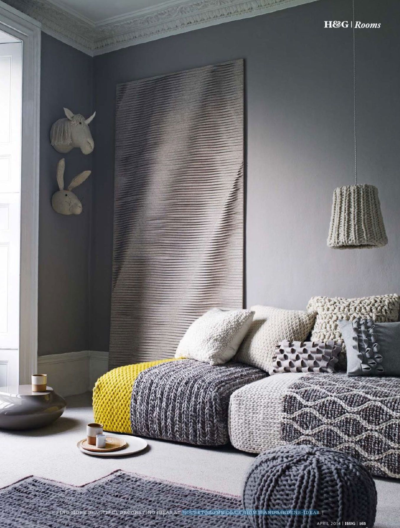Celebrate Wool Week With These Wonderful Ways To Decorate With Wool, As  Chosenu2026